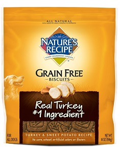Natures Recipe Grain Free Dog Biscuits