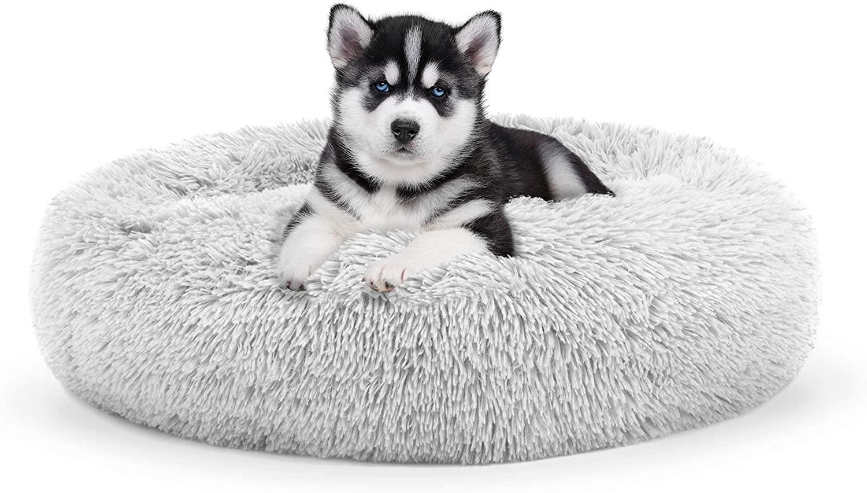 Original Sound Sleep Donut Dog Bed