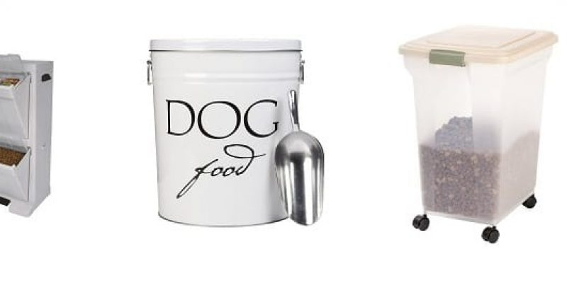 Best Dog Food Container Reviews 2017